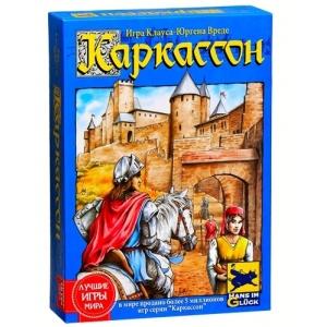 настольная игра каркассон (средневековье)