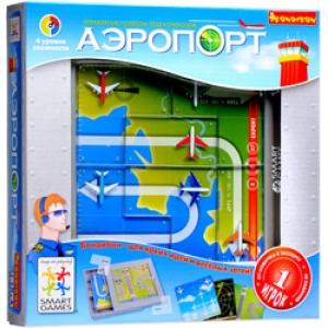 настольная игра-головоломка аэропорт