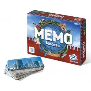 настольная игра мемо: москва
