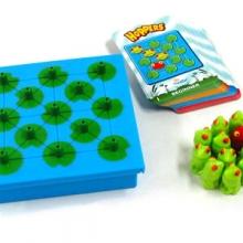 настольная игра-головоломка лягушки-непоседы (hoppers)
