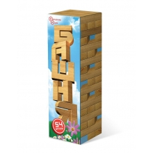Башня (Дженга) в картонной коробке