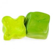 """Умный пластилин Play gum термо """"Зеленый-желтый"""""""