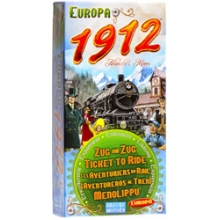 Билет на поезд: Расширение по Европа 1912